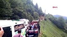 GİRESUN Yolcu minibüsü yayla yolunda devrildi 5 ölü, 6 yaralı