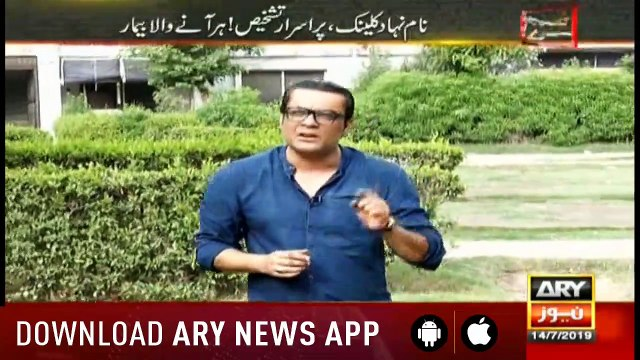 Zimmedar Kaun | Ali Rizvi  | ARYNews | 14 July 2019