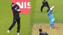 CWC 2019 ENG vs NZ: Joe Root departs for 7, Colin de Grandhomme strikes | वनइंडिया हिंदी