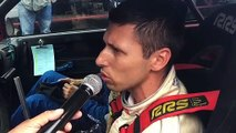 Nicolas Grosjean, vainqueur du rallye du 14 juillet