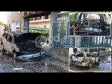 RTV Ora - Fier, makina shpërthen në flakë sapo shoferi del prej saj
