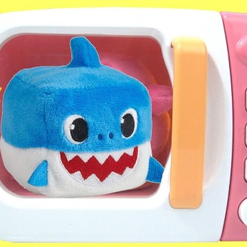 Learn Colors PinkFong Baby Shark Wooden Stud Puzzle Play Baby Shark Song-