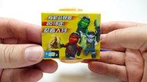 Ninja WORLD Minifigures - Iron Man and Soldier