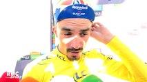 """Tour de France : """"Ça fait chaud au cœur de recevoir autant de soutien"""" savoure Alaphilippe"""
