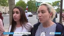 14-Juillet : tensions sur les Champs-Elysées
