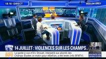 14-juillet: violences sur les Champs-Élysées après le défilé (1/2)