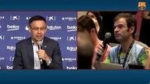 Bartomeu explique les négociations pour le transfert de Griezmann