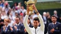 Novak Djokovic remporte Wimbledon en battant Roger Federer en 5 sets