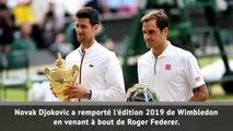 Wimbledon - Djokovic sacré contre Federer au terme d'un duel de légende