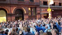 AZ choir group hit by NY blackout sings outside Carnegie Hall