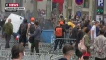 Les gilets jaunes ont manifesté sur les Champs-Élysées à l'issue du défilé du 14 juillet