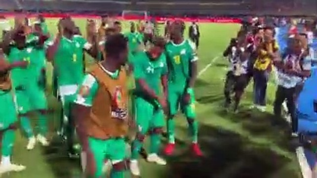 Qualification en finale : La danse des Lions