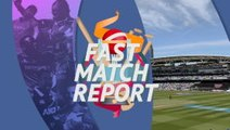 Fast Match Report - England win the Cricket World Cup