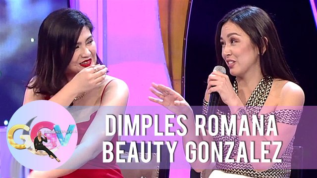 Dimples and Beauty react to Kadenang Ginto Bloopers | GGV