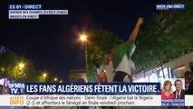 Les fans de l'Algérie fêtent la qualification en finale de la CAN sur les Champs-Elysées