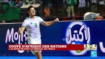 """CAN-2019 : """"Folie à Alger"""" après la qualification de l'Algérie en finale (2-1)"""