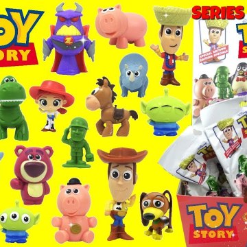 TOY STORY Minis Blind Bags Series 6 Full Set with Woody, Buzz Lightyear and Aliens