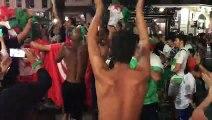 Scènes de liesse à Toulon après la qualification de l'Algérie en finale de la CAN