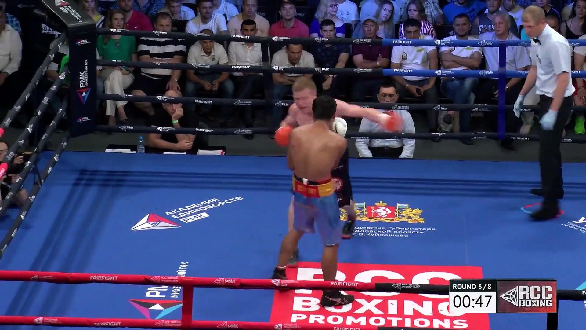 Mark Urvanov vs Marco Demecillo (13-07-2019) Full Fight