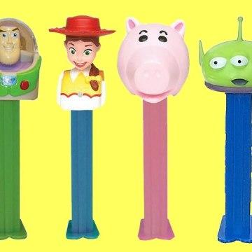 Disney Pixar TOY STORY 4 PEZ Candy Dispensers with Woody, Jessie, Buzz Lightyear
