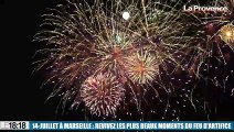 14-Juillet à Marseille : revivez les plus beaux moments du feu d'artifice !