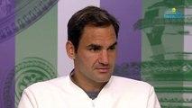 """Wimbledon 2019 - Roger Federer : """"Je ne sais pas où je perds la finale"""""""