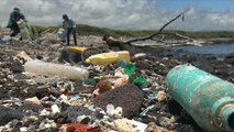 "Plastic waste turns Hawaii's Kamilo Point into ""trash beach"""