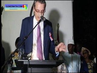 Célébration du 14 juillet 2019, les discours de l'ambassadeur et de la ministre de la Coopération
