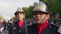 Les ultramarins au 14 juillet à Paris