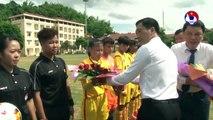 Sôi động ngày khai mạc giải bóng đá nữ Vô địch U16 Quốc gia 2019   VFF Channel