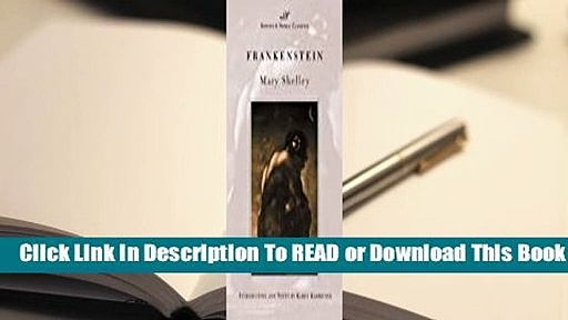 Full E-book  Frankenstein  For Kindle