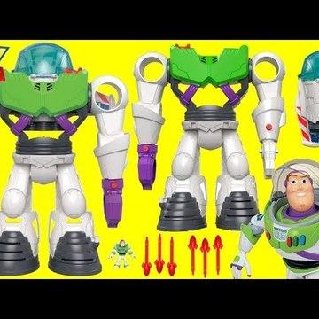 Disney Pixar Imaginext TOY STORY 4 Buzz Lightyear ROBOT Rocket Spaceship