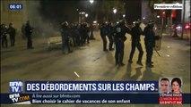 14-Juillet: les images des débordements survenus sur les Champs-Élysées