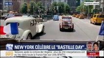"""""""Bastille Day"""": New York célèbre le 14-Juillet avec une parade de voitures françaises de collection"""
