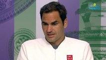 "Wimbledon 2019 - Roger Federer : ""Nadal ..., Djokovic ..., in both cases, I'm the loser"""