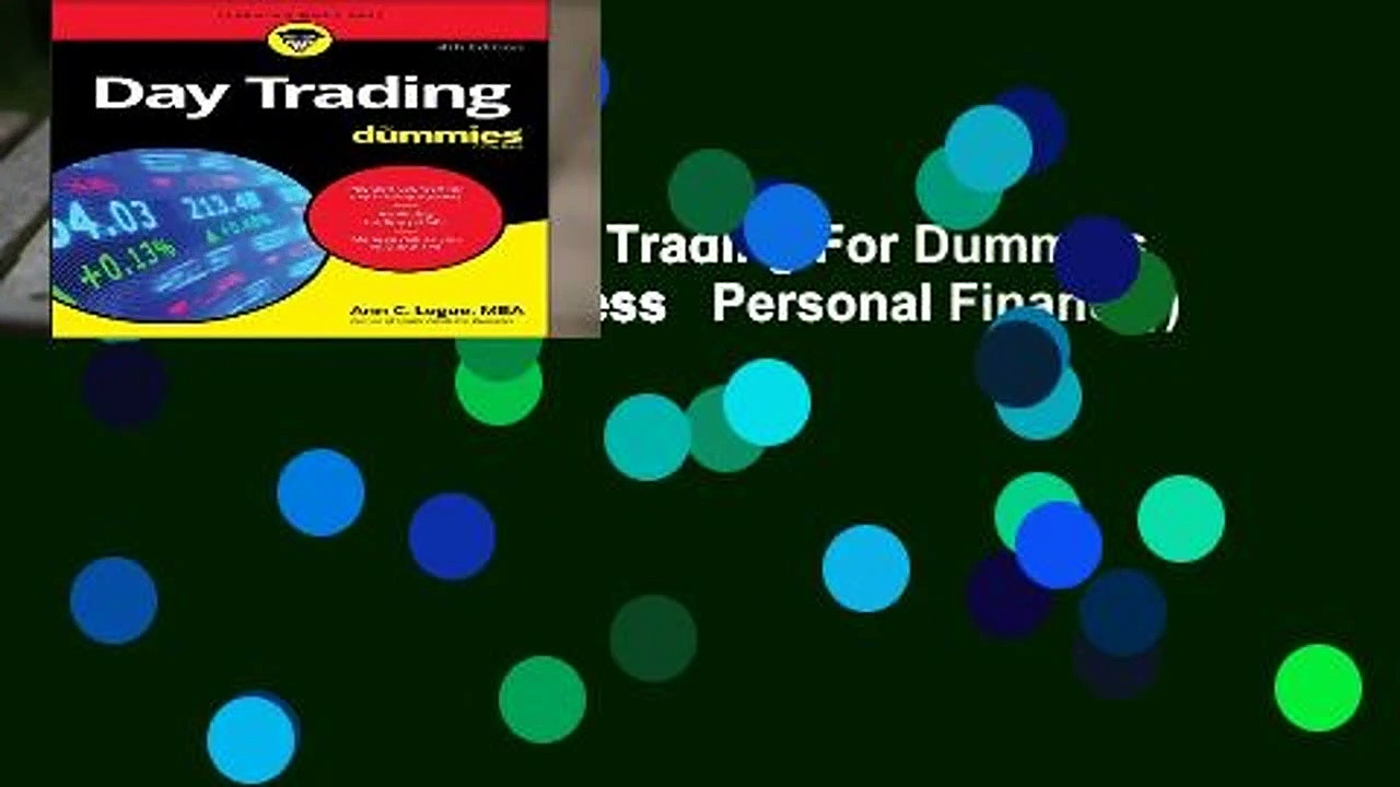 [BEST SELLING]  Day Trading For Dummies (For Dummies (Business   Personal Finance))