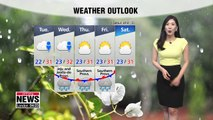 Rain in inland regions into Tuesday 071519