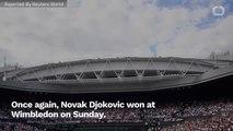 Whew! Djokovic Beats Federer To Win Fifth Wimbledon Title