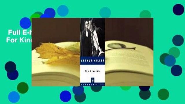 Full E-book  The Crucible  For Kindle