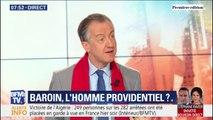 """ÉDITO - Chez les Républicains, """"François Baroin est le mieux placé, parce que c'est le mieux planqué"""""""