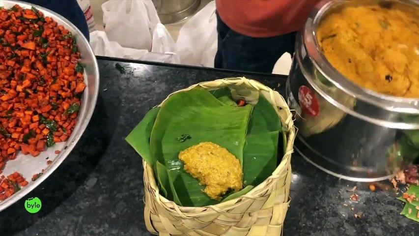 World Famous SUBBAYA HOTEL in Hyderabad   Meals on Banana Leaf   Best Veg Food
