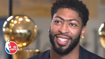 Anthony Davis on joining Lakers, playing with LeBron, recruiting Kawhi, more - NBA on ESPN