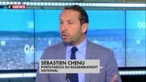 """Sébastien Chenu, porte-parole du Rassemblement national : """"C'était le 14 Juillet de la honte"""""""