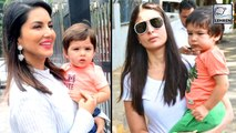 Sunny Leone's Son Asher Is A Copy Of Taimur Ali Khan