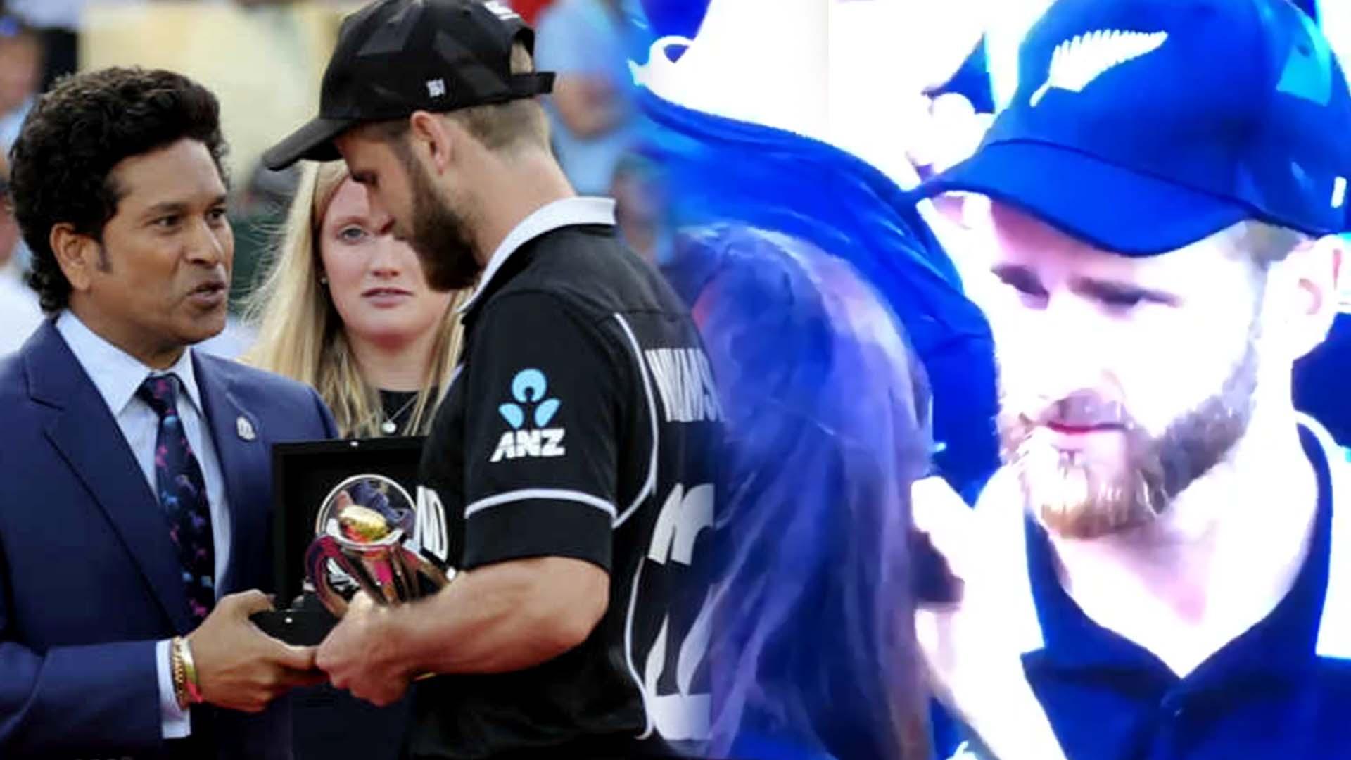 WORLD CUP 2019 FINALS : NZ VS ENG | களத்திலேயே அதிர்ச்சி அடைந்த வில்லியம்சன்! ஏன் தெரியுமா?- வீடியோ