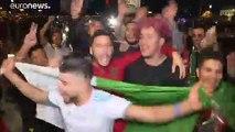 Las celebraciones de los argelinos se saldan con más de 280 detenidos