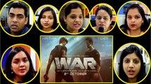 WAR Teaser Reaction: Hrithik Roshan | Tiger Shroff | Vaani Kapoor | FilmiBeat