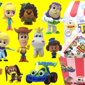 Disney Pixar Toy Story 4 Surprise Mini Figure- Series 2 with Forky, Bo Peep and Woody
