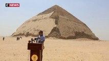Deux pyramides rouvrent en Égypte