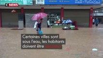 Chine : des pluies torrentielles